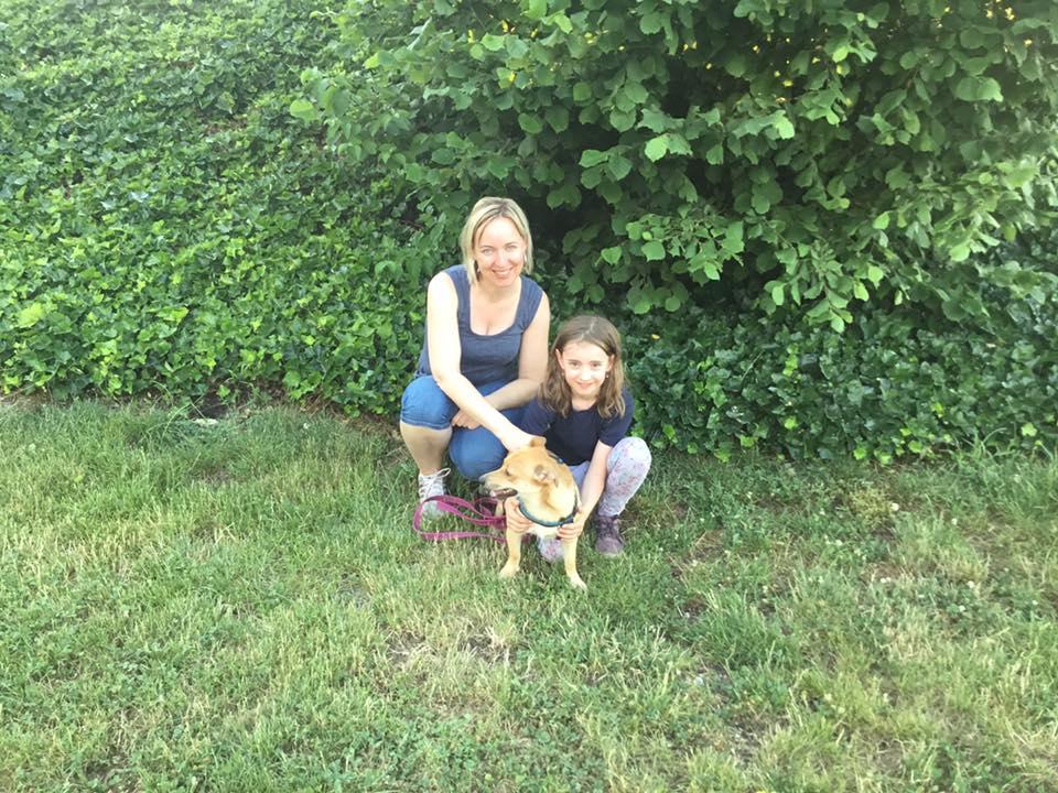 Christina Meister- Sedlinger in der Hundeschule Hürm